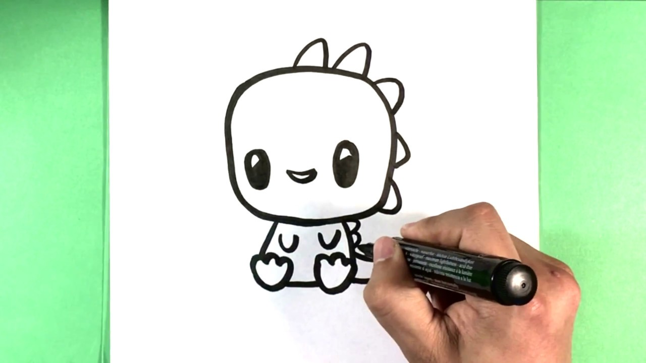 How To Draw Cute Lizard Cute Animals To Draw Youtube