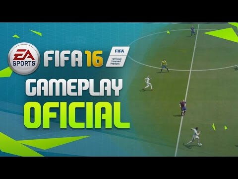 FIFA 16  - GAMEPLAY OFICIAL !! - ANALISE