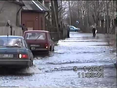 "Windstorm ""Erwin"" and storm surge in Riga, Bolderāja 
