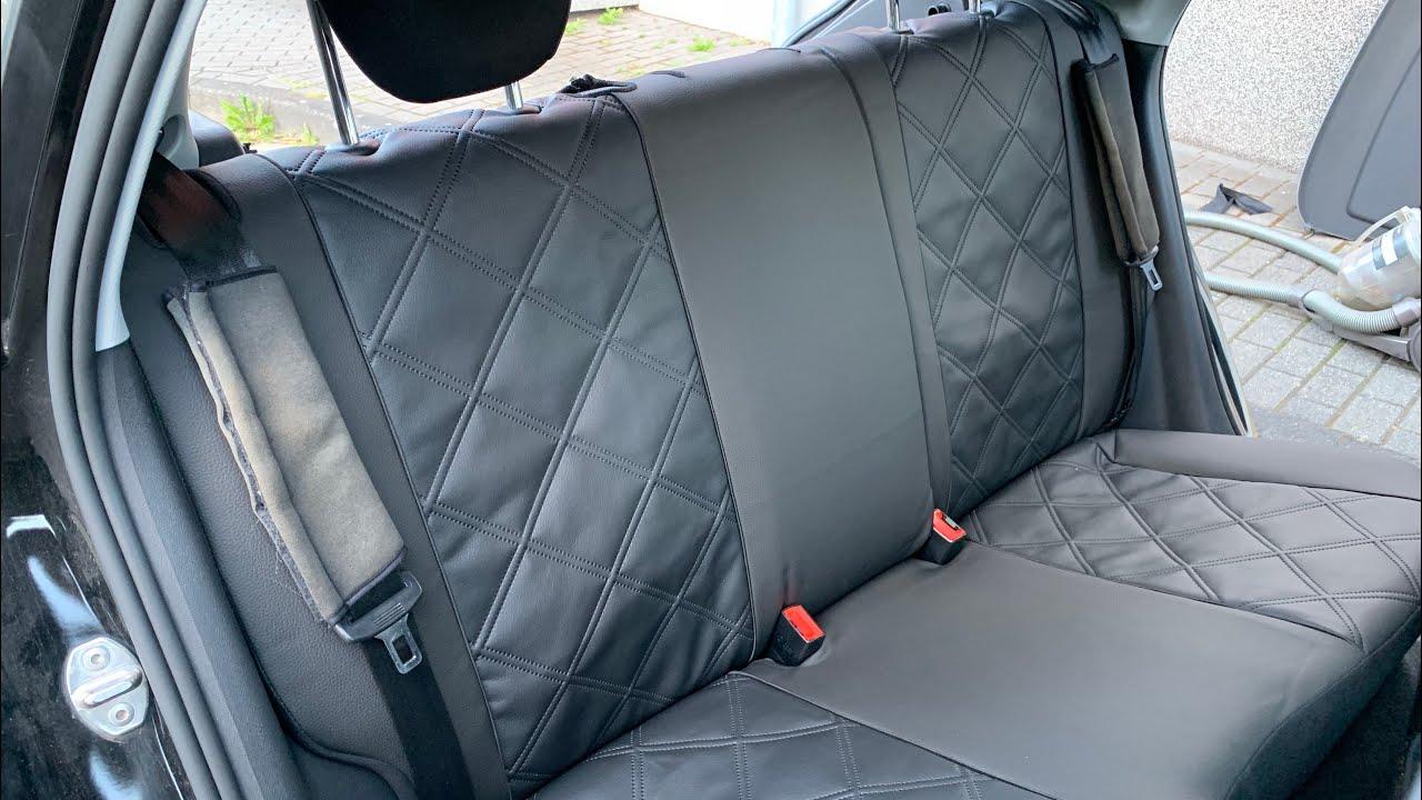 Subaru Outback 1Stk Kunstleder Überzug VISION Universell GRAU
