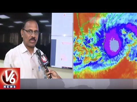 IMD Officer Raja Rao Face To Face Over Cyclone Phethai   Hyderabad   V6 News