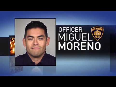 Funeral Services for fallen San Antonio police officer Miguel Moreno