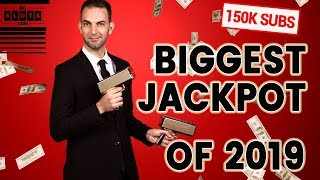 HUGE ➡ BIGGEST JACKPOT OF 2019 - 1,666X/BET WIN TO CELEBRATE 150,000 SUBS  ✪ BCSlots