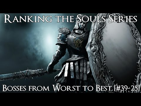 Ranking the Souls Series Bosses from Worst to Best [#39-25]