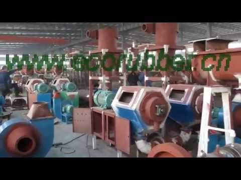 Rubber Powder Grinders With Automatic Feeding Device