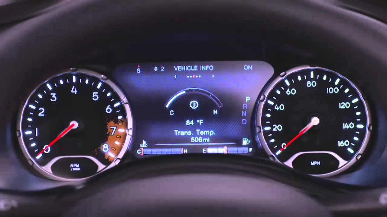 2016 Jeep Renegade Evic Instrument Cluster Did Youtube