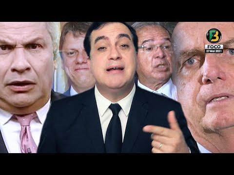 Bolsonaro faz desafio à CPI, Susto de Paulo Guedes, Sikêra JR abandona programa Ao Vivo, Live e mais