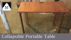 How to Build a Collapsible Portable Table
