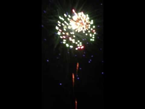 Fireworks 2013 Rio Wisconsin