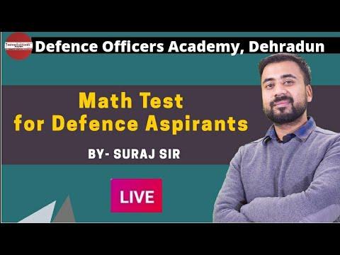 math-test-for-defence-aspirants-|-defence-officers-academy