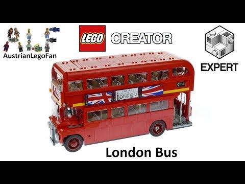 lego creator 10258 london bus lego speed build review. Black Bedroom Furniture Sets. Home Design Ideas