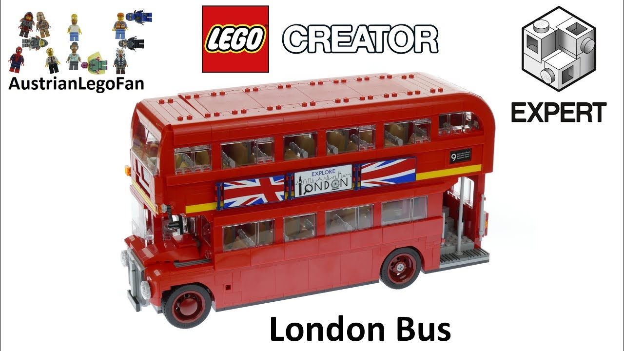 lego creator 10258 london bus lego speed build review youtube. Black Bedroom Furniture Sets. Home Design Ideas