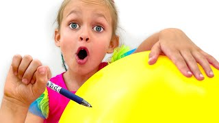 풍선 까꿍동요 - 어린이 노래 | 어린이를위한 노래 |…