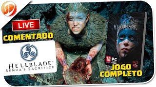 Hellblade: Senua's Sacrifice Gameplay PT-BR - Do inicio ao Fim Jogo Completo