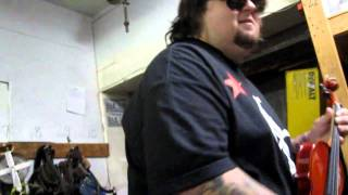 Chumlee Blowing Off Steam