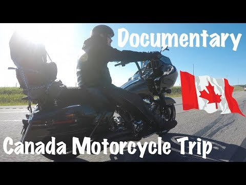 Documentary Film-Motorcycle Trip to Canada From Washington State  & Through Montana
