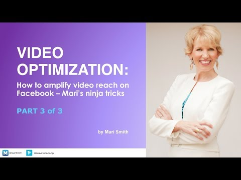 How To Amplify Your Video Reach & Results on Facebook - Mari Smith & Wave Video App