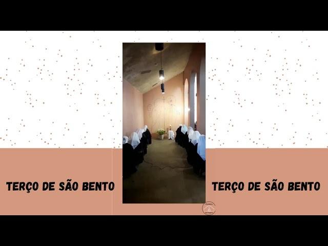 REZE O TERÇO DE SÃO BENTO CONOSCO! - 11/07/2021