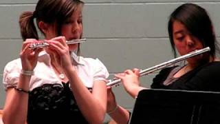 Beautiful Duet - Piccolo and Flute - Megan and Emily