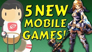 5 BEST new Mobile Games of the Week for Android & iOS | TL;DR Reviews #30