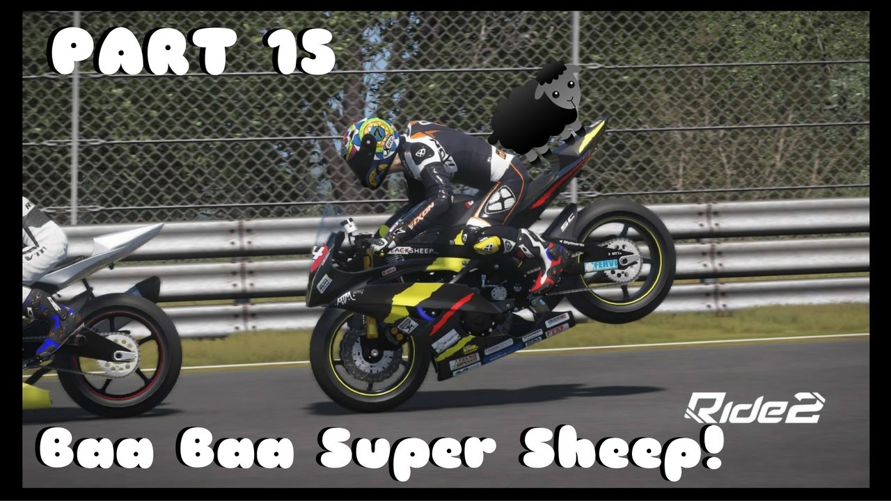 ride 2 ps4 gameplay part 15 baa baa super sheep. Black Bedroom Furniture Sets. Home Design Ideas