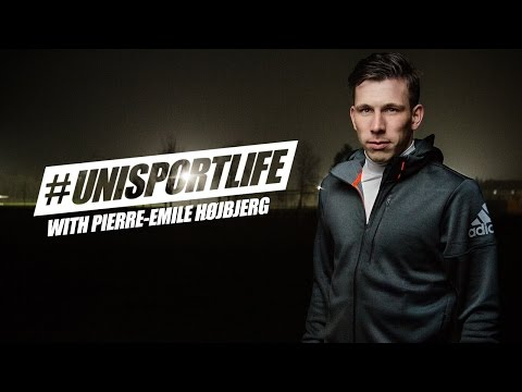 #unisportlife with Pierre-Emile Højbjerg - Motivation for football players