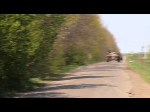 Ukrainian army drive off - first on RT
