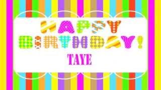 Taye   Wishes & Mensajes - Happy Birthday