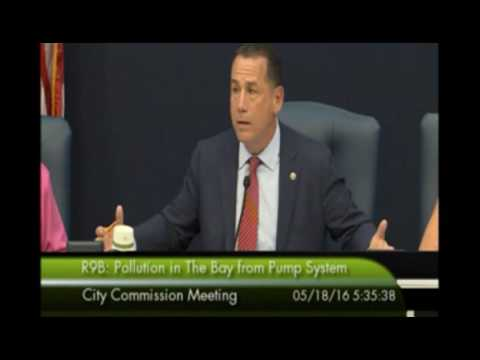 Mayor Levine Rejects Miami Herald article and FIU study on Bay pollution