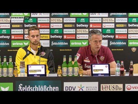 2. Runde DFB-Pokal | SCF - SGD | Pressekonferenz vor dem Spiel