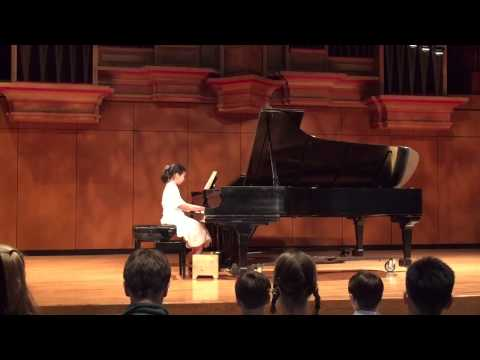 초의 2015 Spring Recital @ Blair School of Music, Vandebilt Univ.