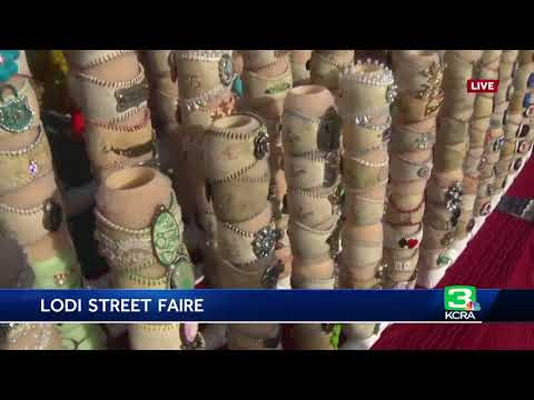 Looking for something unique, try the Lodi Street Faire