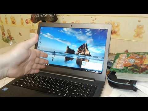 Как запустить новый ноутбук леново