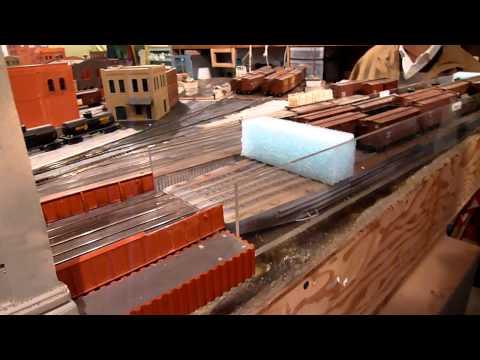 San Francisco State Belt Railroad model layout Part 2