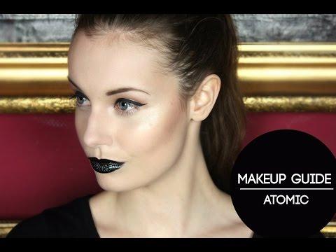 Makeup Guide #1 Atomic: Rockerchic Makeuplook | OBSESS Magazine |