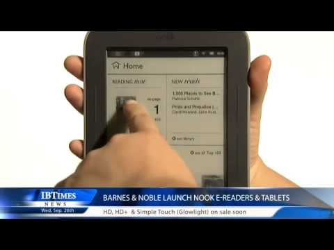 Barnes & Noble launch Nook e-readers & tablets