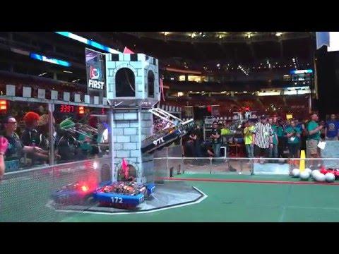 2016 Championship match #24 : FRC Team #971 Spartan Robotics