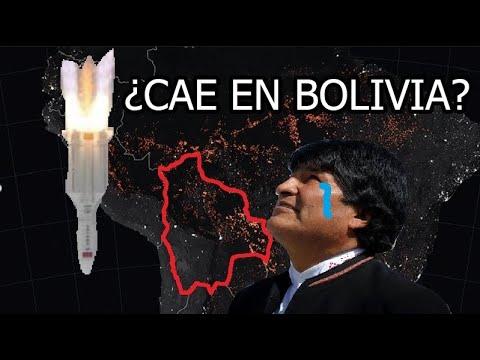EL SATÉLITE CHINO CAE EN BOLIVIA - iLu en VIVO