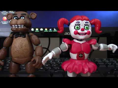 FNAF Sister Location Circus Baby Action Figure