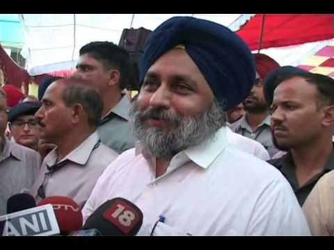 Sukhbir badal on Kuldeep Brar attack