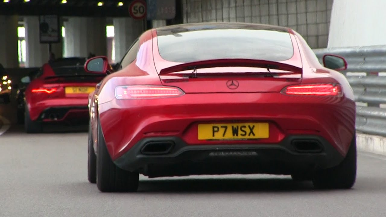 Mercedes Amg Gts From Supercars Of London In Monaco Youtube