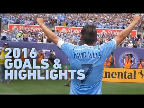 David Villa 2016 MLS Goals & Highlights