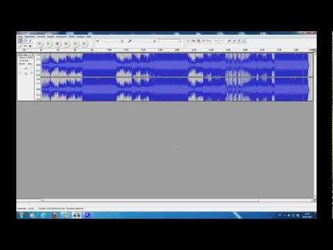 Audacity Musik schneiden und Bearbeiten [Tutorial]