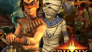 Sphinx and the Cursed Mummy Full Movie All Cutscenes
