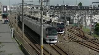 平日朝の東武スカイツリーライン北春日部駅