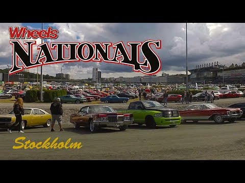 Classic American Car Parade | Wheels Nationals Stockholm 2017 | The Walkaround