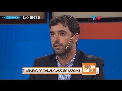 """E.Basavilbaso (ANSES) sobre """"Ganancias"""", en """"El juego limpio"""" de Nelson Castro - 18/02/16"""