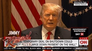 Trump Blames Himself for Government Shutdown
