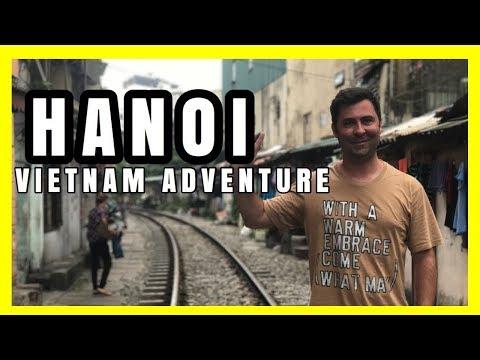 HANOI - VIETNAM Vlog Adventure