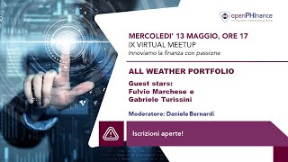 IX Virtual Meetup - All Weather Portfolio